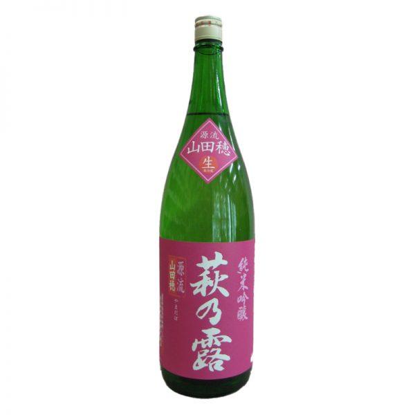 萩乃露 槽場直汲み 中汲み 無濾過生原酒 純米吟醸 山田錦 1,800ml