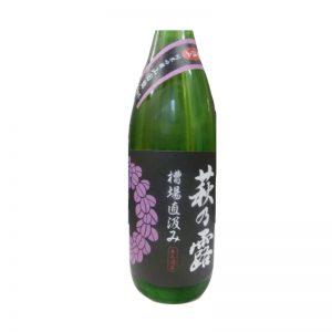 萩乃露 槽場直汲み 中汲み 無濾過生原酒 純米吟醸 山田錦 720ml