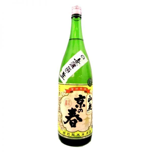 京の春 山廃純米無濾過生 1,800ml