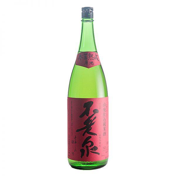 不老泉 純米吟醸 山廃仕込原酒 参年熟成赤ラベル