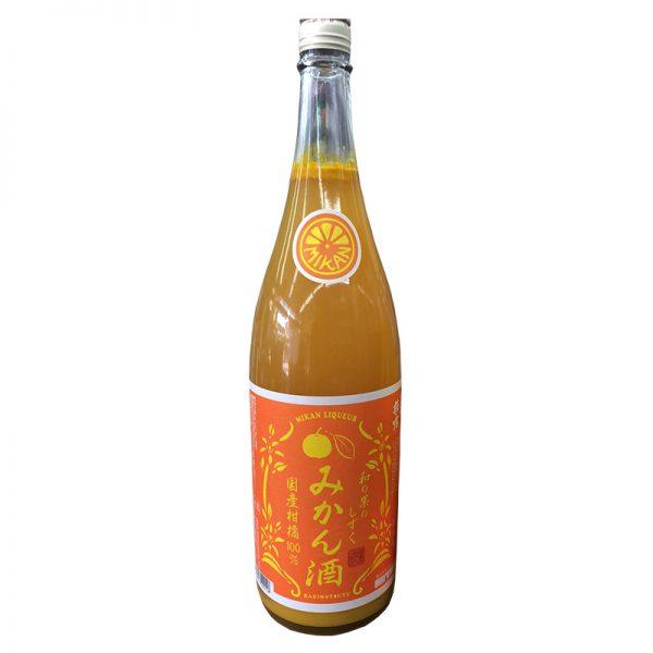 萩乃露 和の果のしずく みかん酒 1,800ml