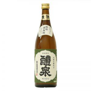 醴泉 純米吟醸 生原酒 酒無垢