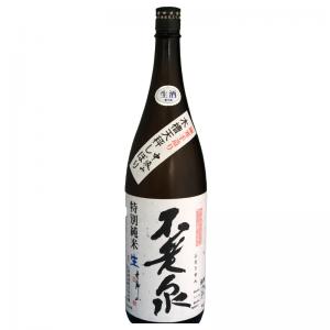 不老泉 特別純米中汲み無濾過生原酒 1,800ml