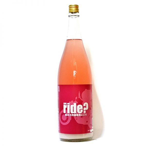 五橋 RIDE 純米大吟醸 桃色にごり 1,800ml