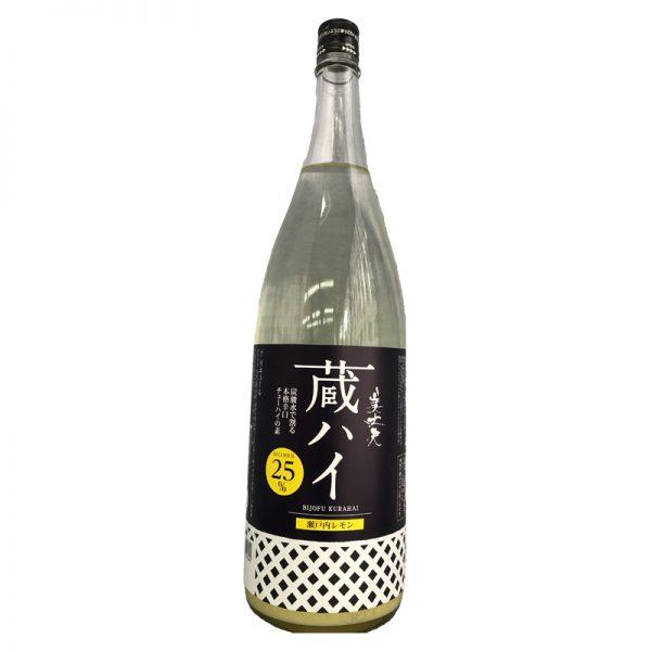 美丈夫 蔵ハイ 瀬戸内レモン 1,800ml