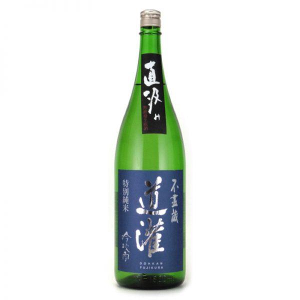 道灌 特別純米生原酒 吟吹雪 直汲み 1,800ml