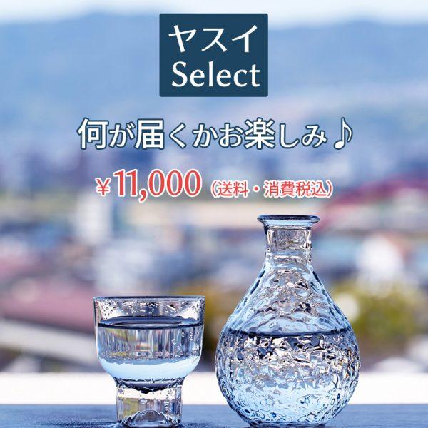 ヤスイSelect ¥11,000(送料・消費税込)