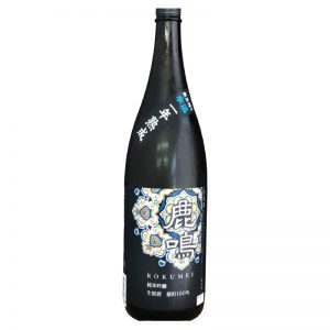 鹿鳴 雄町 純米吟醸生原酒 無圧搾り 一年熟成 1,800ml